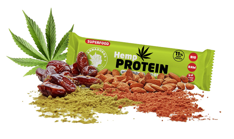 Hemp Protein Bar Cannadorra