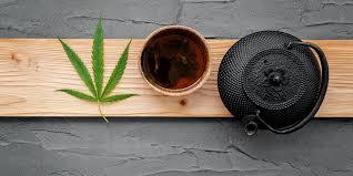 Uso de chá CBD