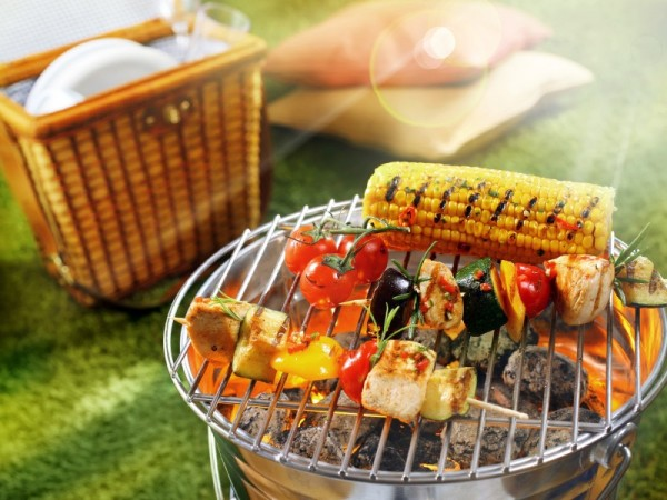 Summer Barbecue With Hemp