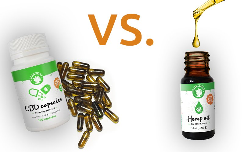 Cbd Capsules Vs Cbd Hemp Oil