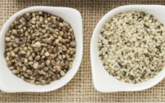 Care este diferența dintre semințele de cânepă decorticate și întregi