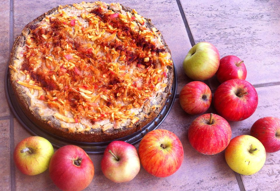 Apple Pie With Hempseeds