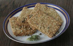 Hanf Sauerkraut Pfannkuchen