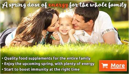 A Spring Dose Of Energy For The Whole Family