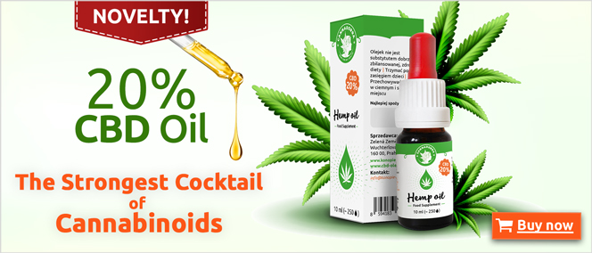 Novelty 20 Percent CBD Oil The Strongest Cocktail Of Cannabinoids