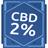 גביש Cbd 2 אחוז