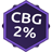 Cbg 2 אחוז