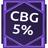 Cbg 5 אחוז
